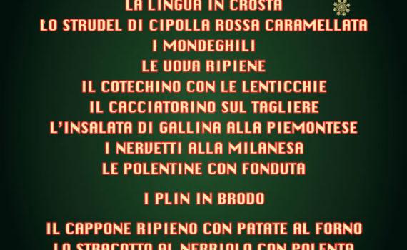 menu natale AlLess