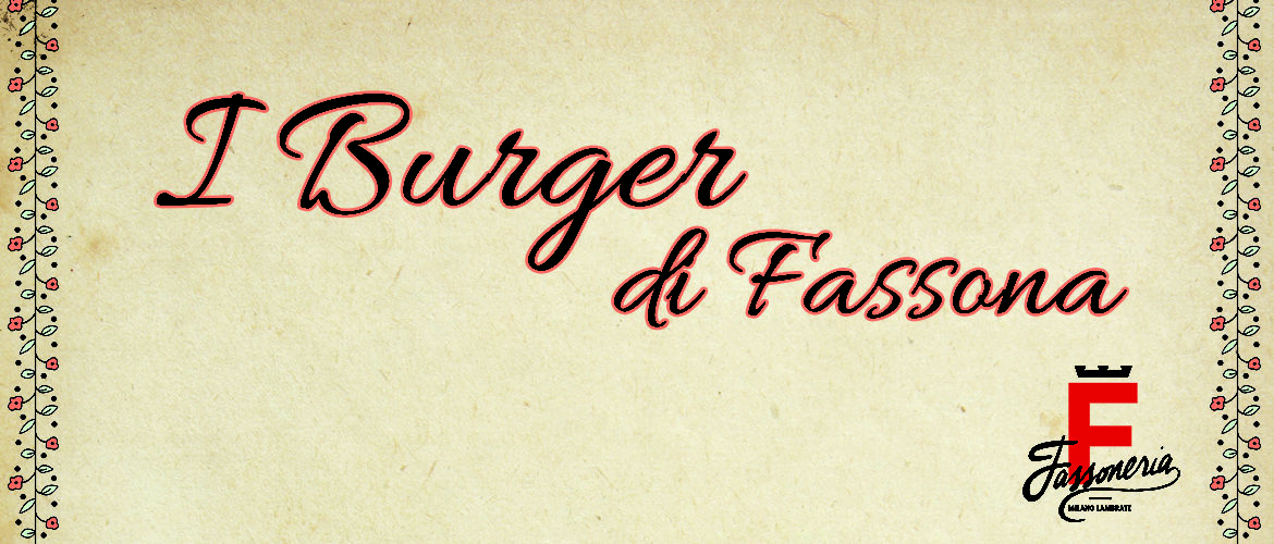 i burger di fassona